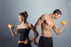 Физические нагрузки - причина задержки месячных