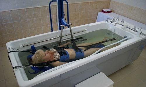 Подводная тракция считается безопасным способом вытяжения